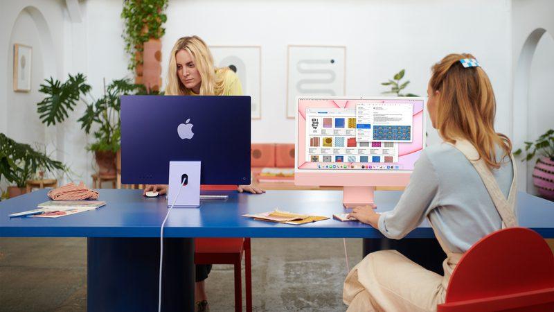"""Der neue Apple iMac 24"""" – Speed wie ein Großrechner, Formfaktor niedlich"""